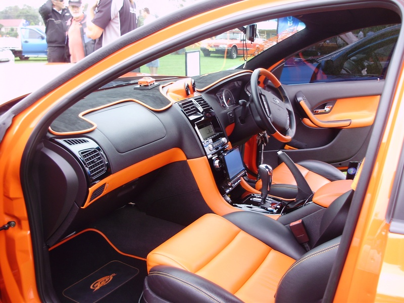 Flashy interior